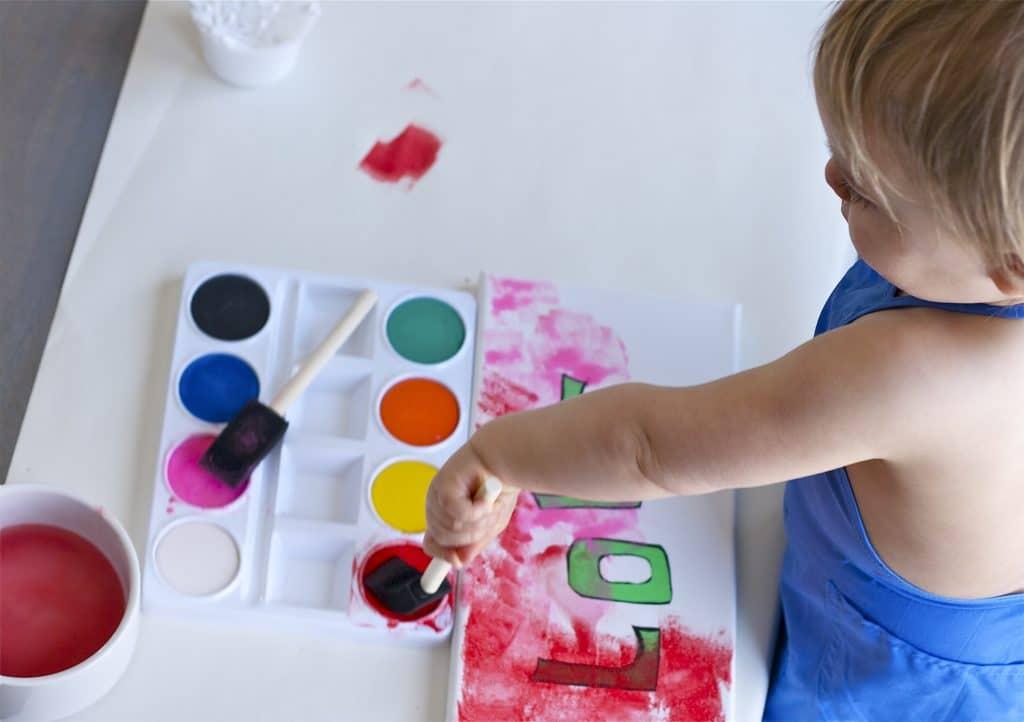 Toddler LOVE Craft-1