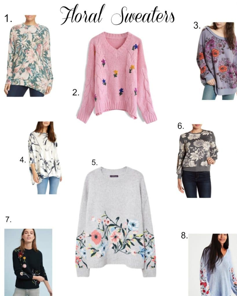 Floral sweaters-2