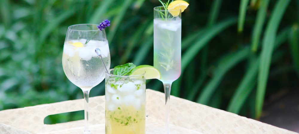 Refreshing Herb Garden Cocktails