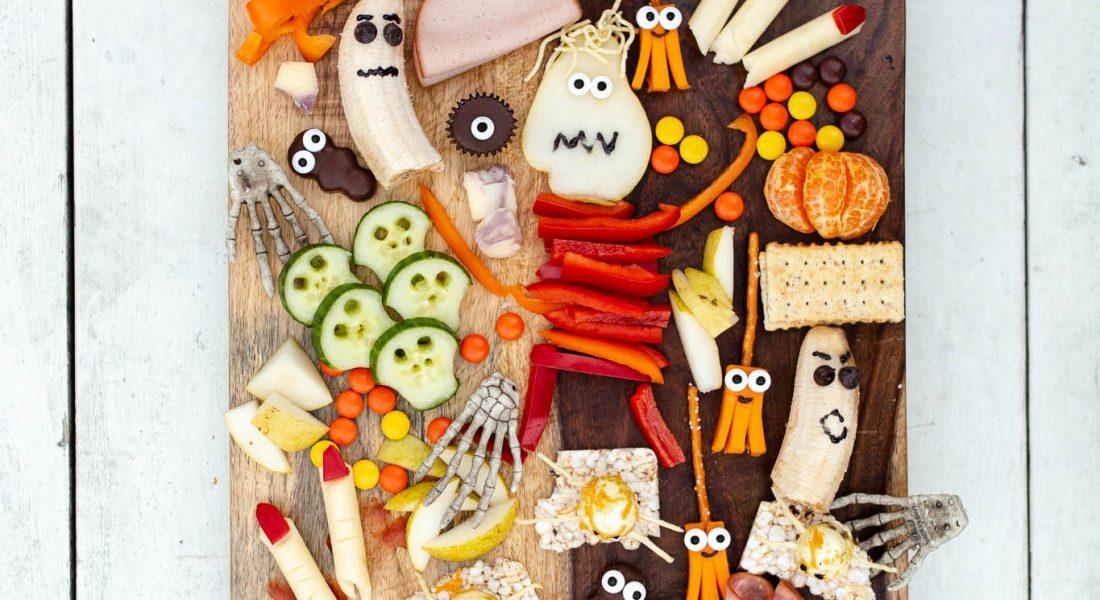 Kids Halloween Charcuterie Board