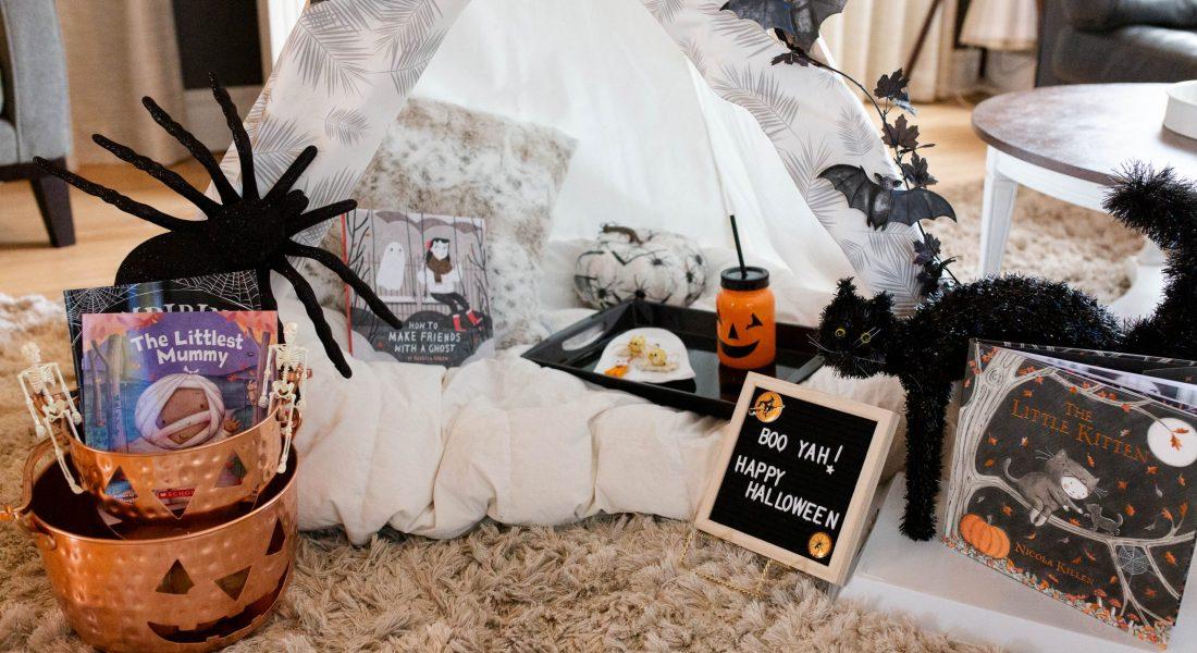 Create The Cutest Halloween Hut