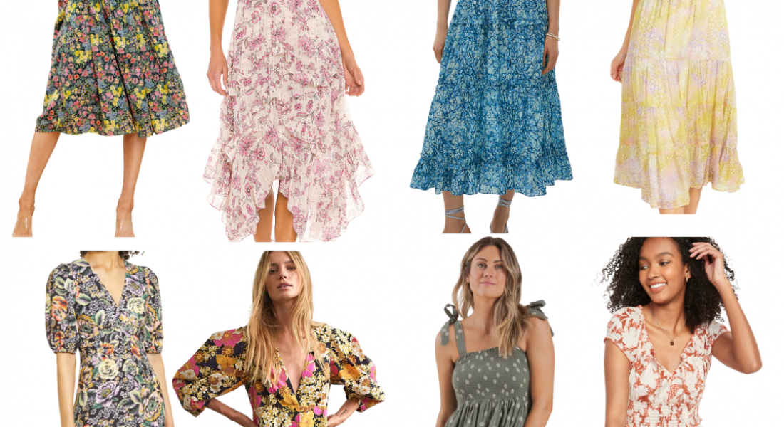 My Favourite Floral Midi Dresses