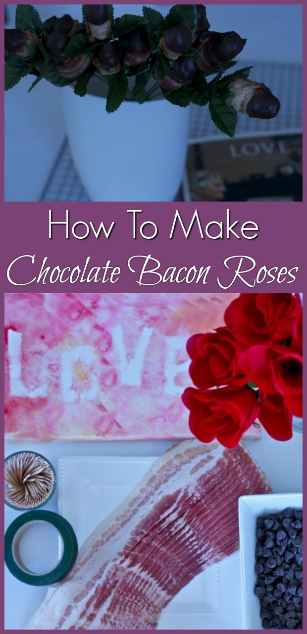 chocolate dipped bacon roses-11