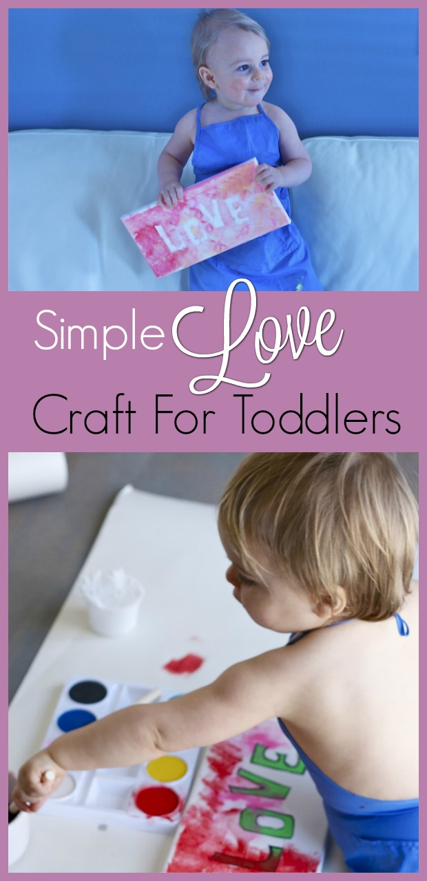 Simple Love Craft for toddlers-9