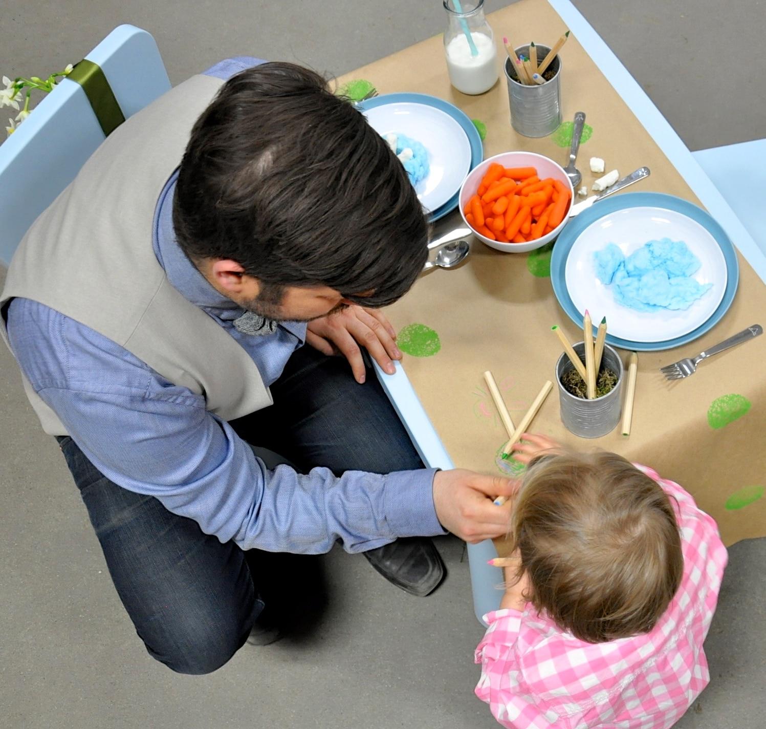 Easter Brunch Toddler Table-7