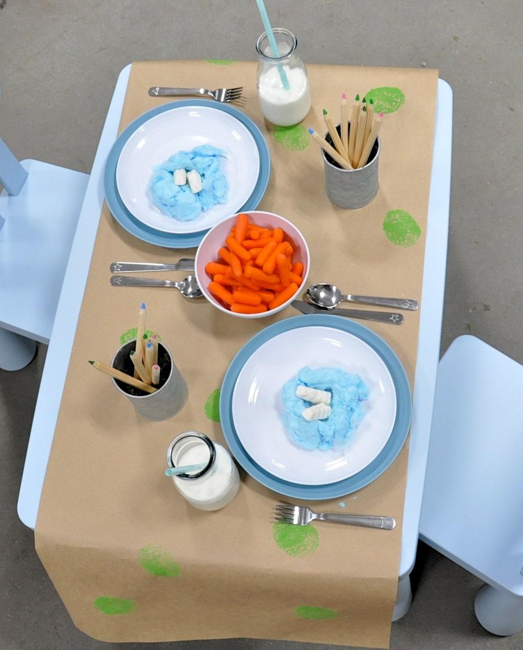 Easter Brunch Toddler Table-3