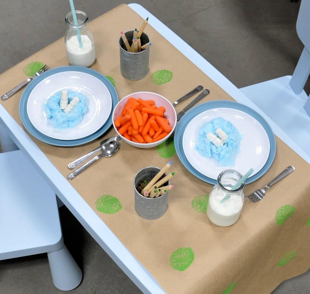 Easter Brunch Toddler Table-2