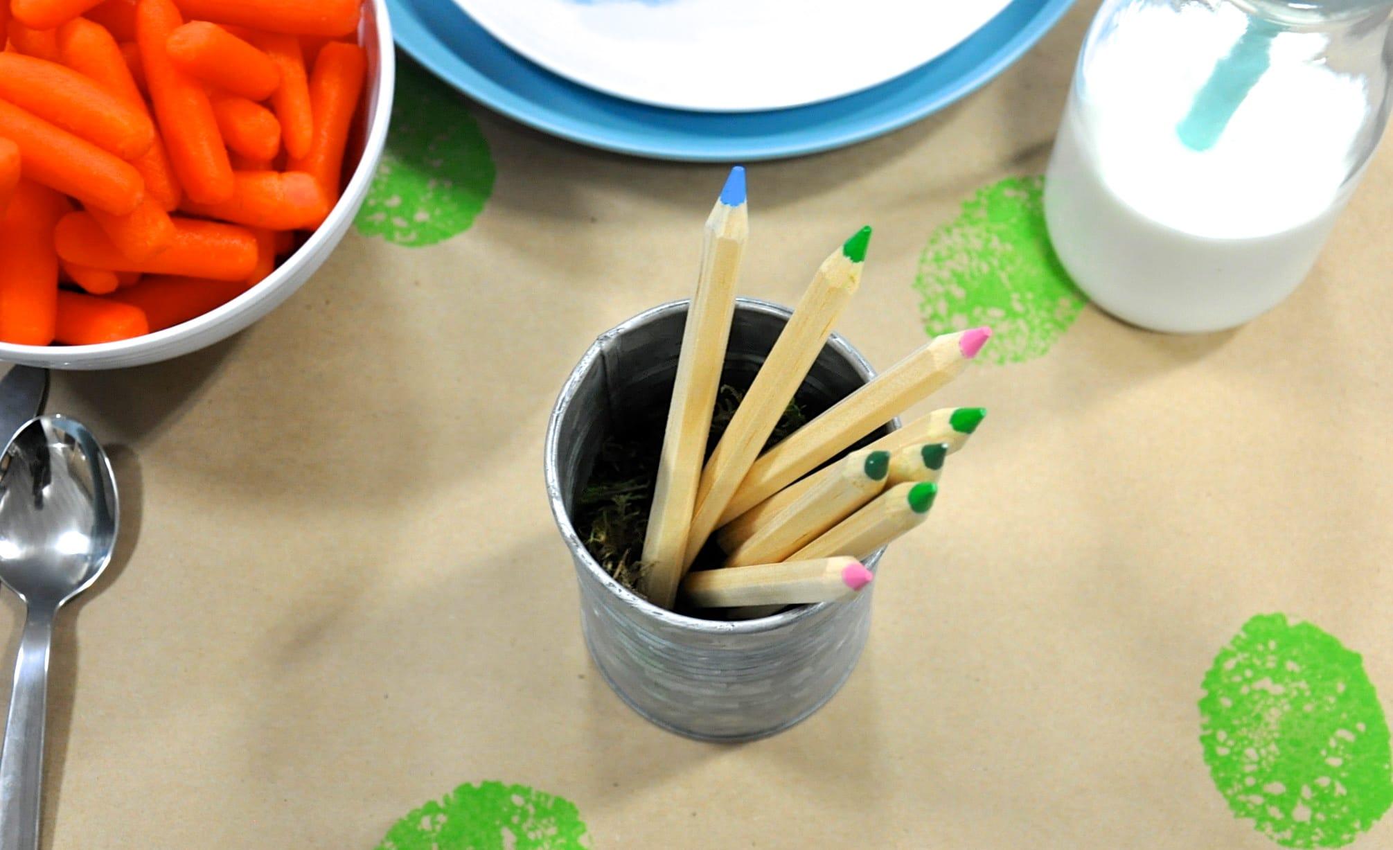 Easter Brunch Toddler Table-6