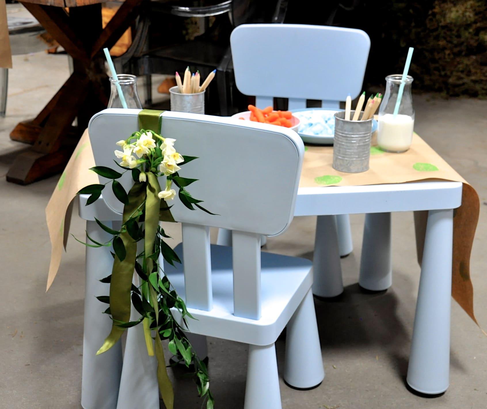Easter Brunch Toddler Table-1