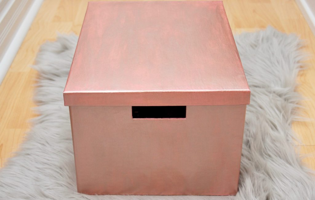 Rose Gold Storage Box-8
