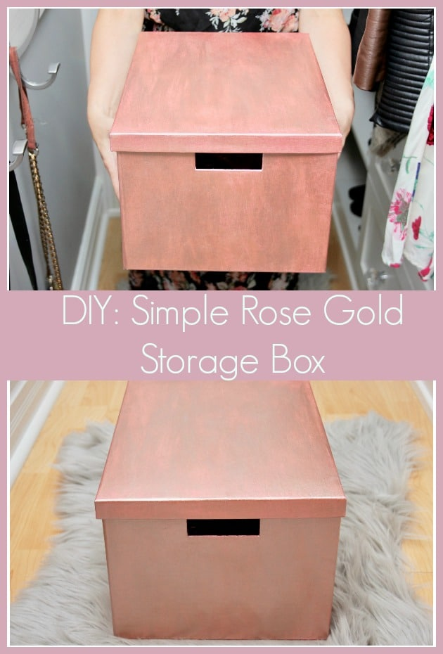 Rose Gold Storage Box-11