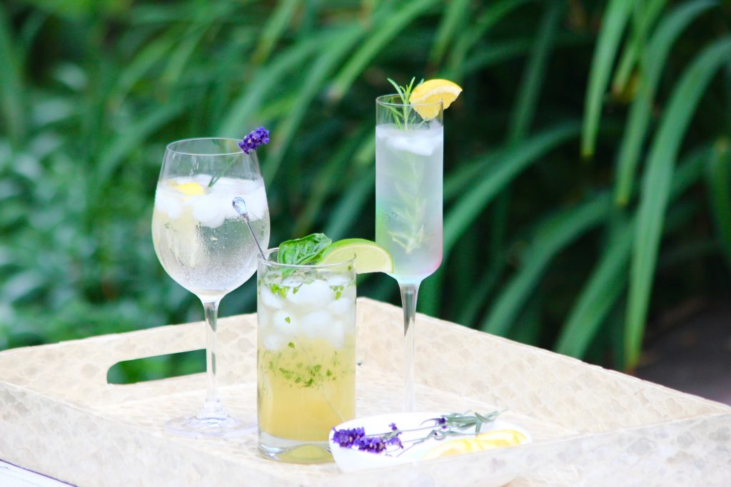 Refreshing Herb Garden Cocktails