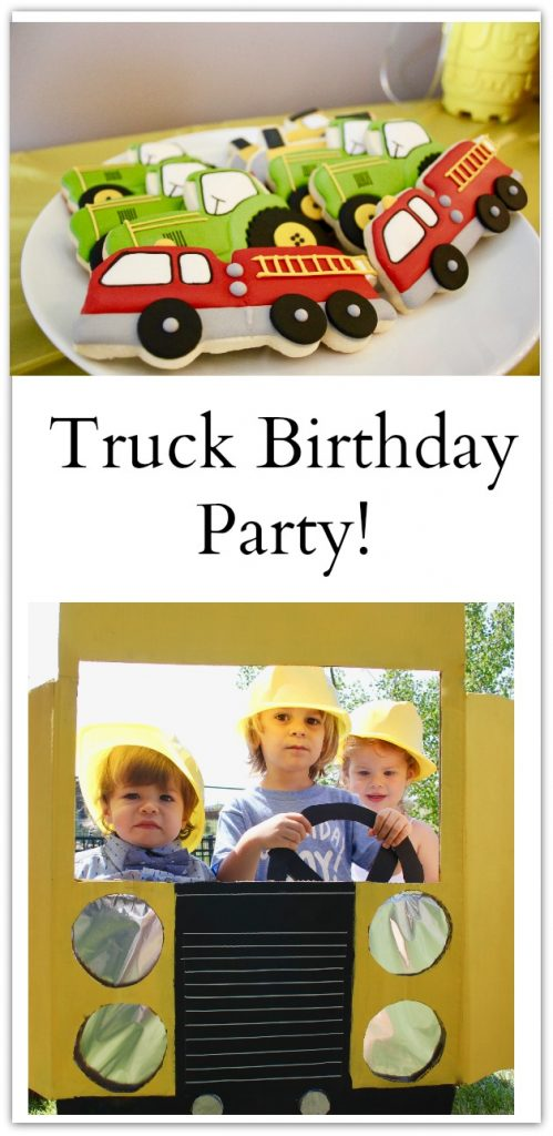 truck birthday party-18