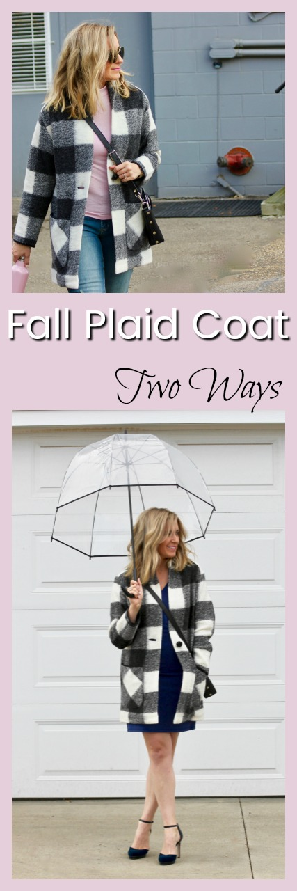 Fall Plaid Coat-8