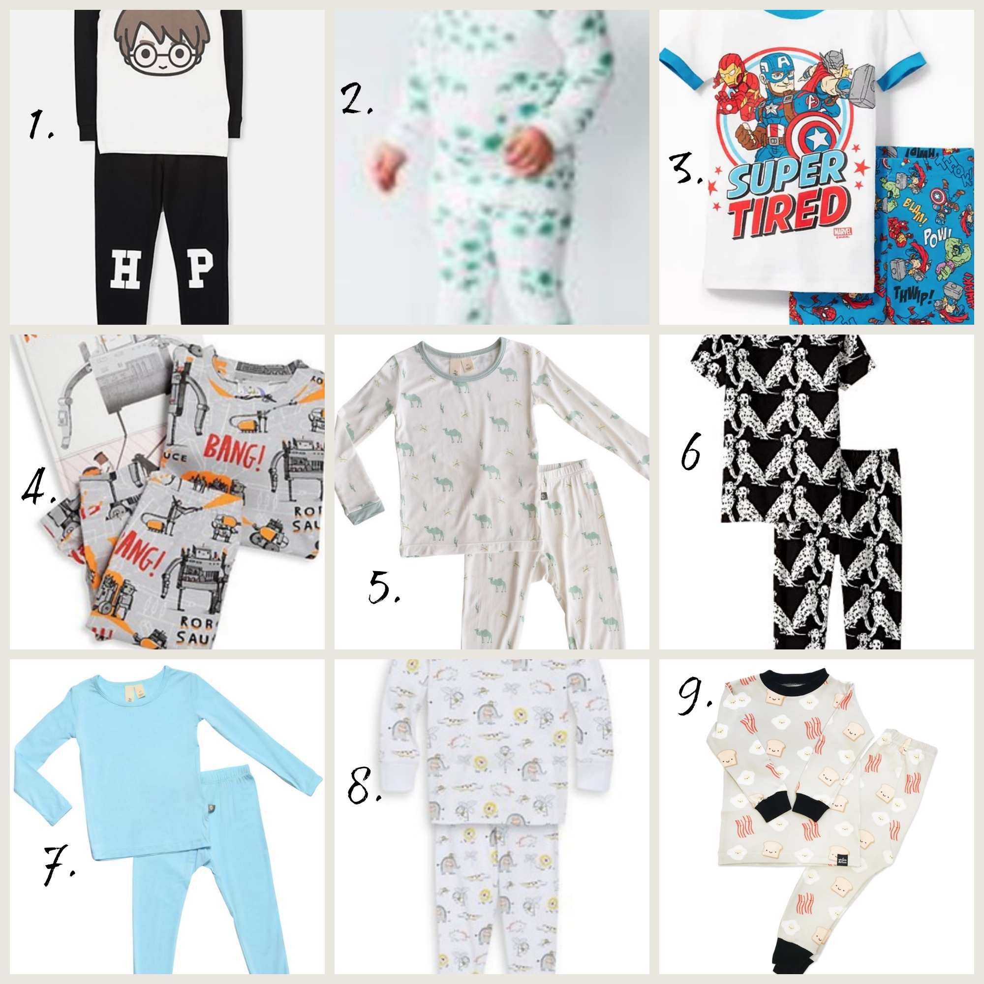 Adorable Toddler Pajamas-8