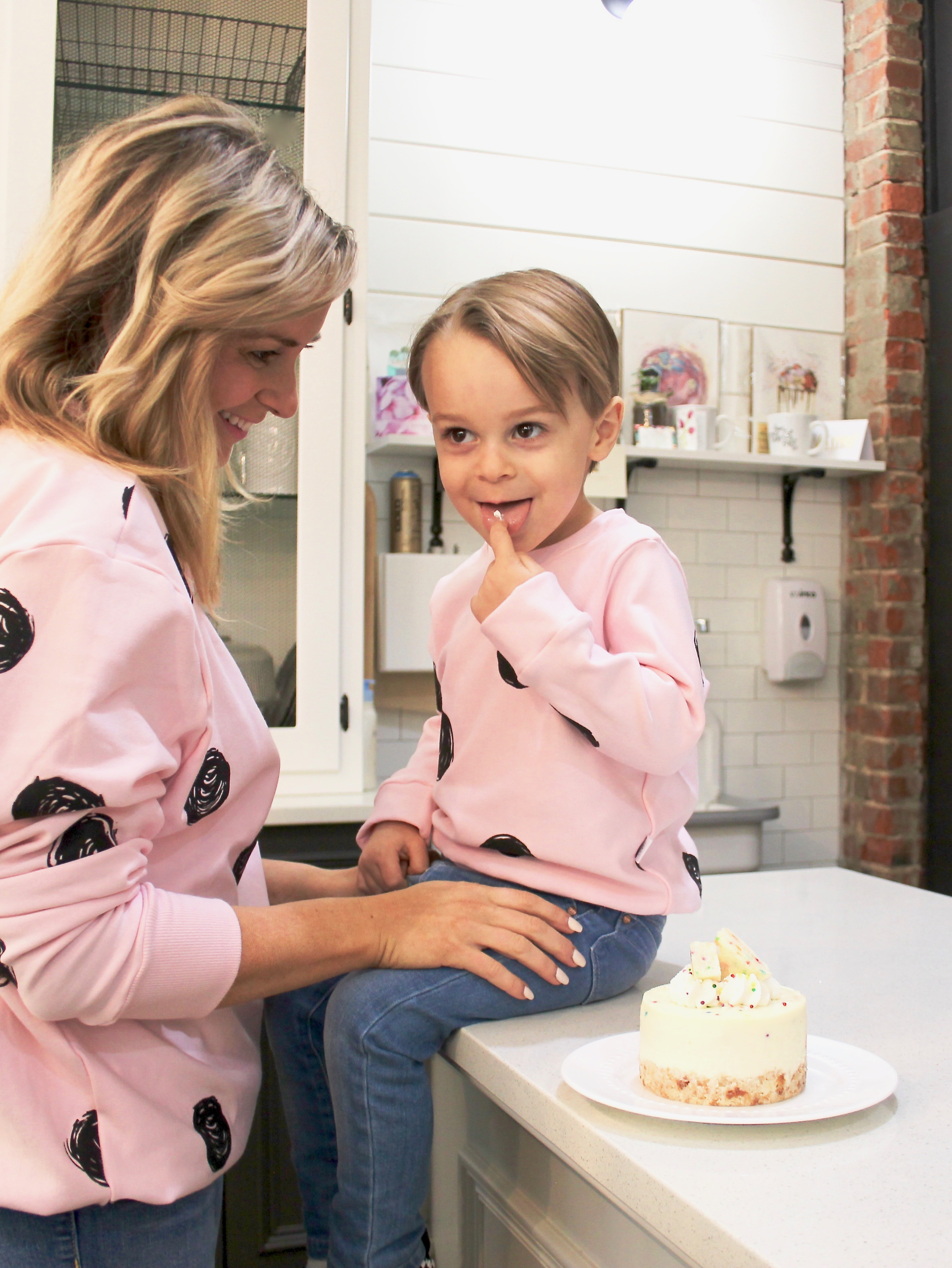 pink polka dot sweaters-4
