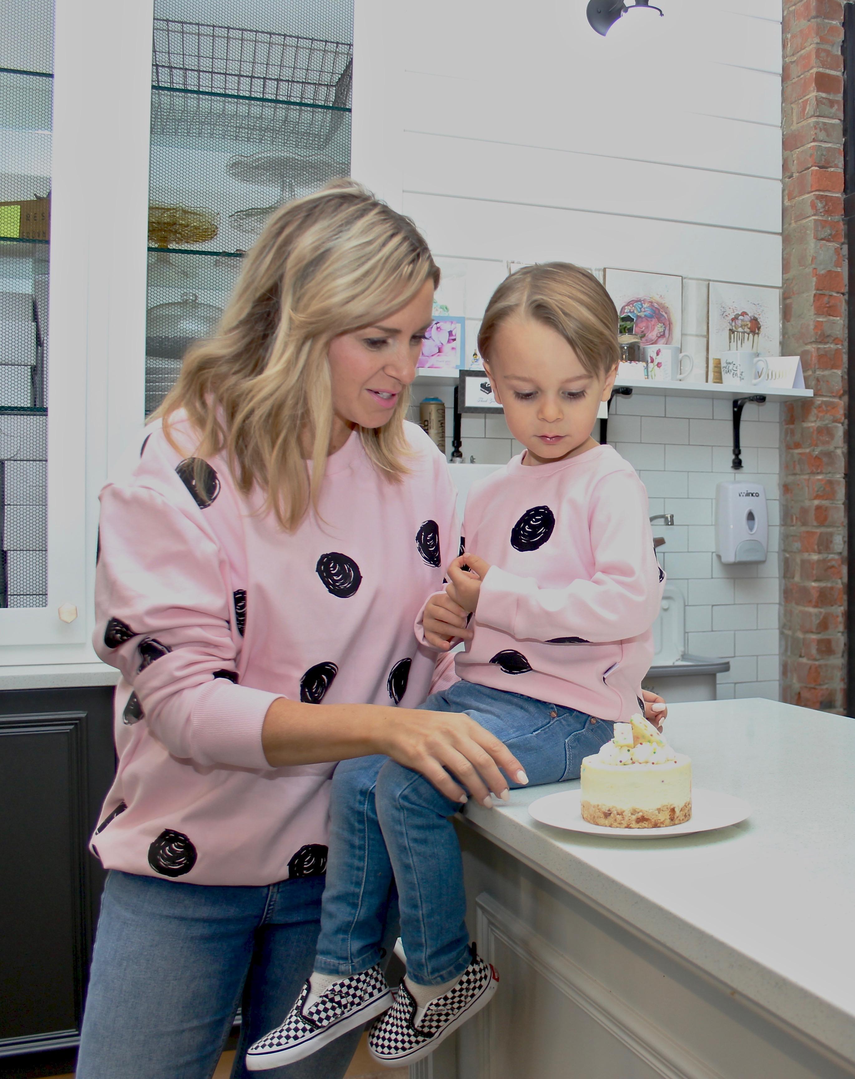pink polka dot sweaters-5