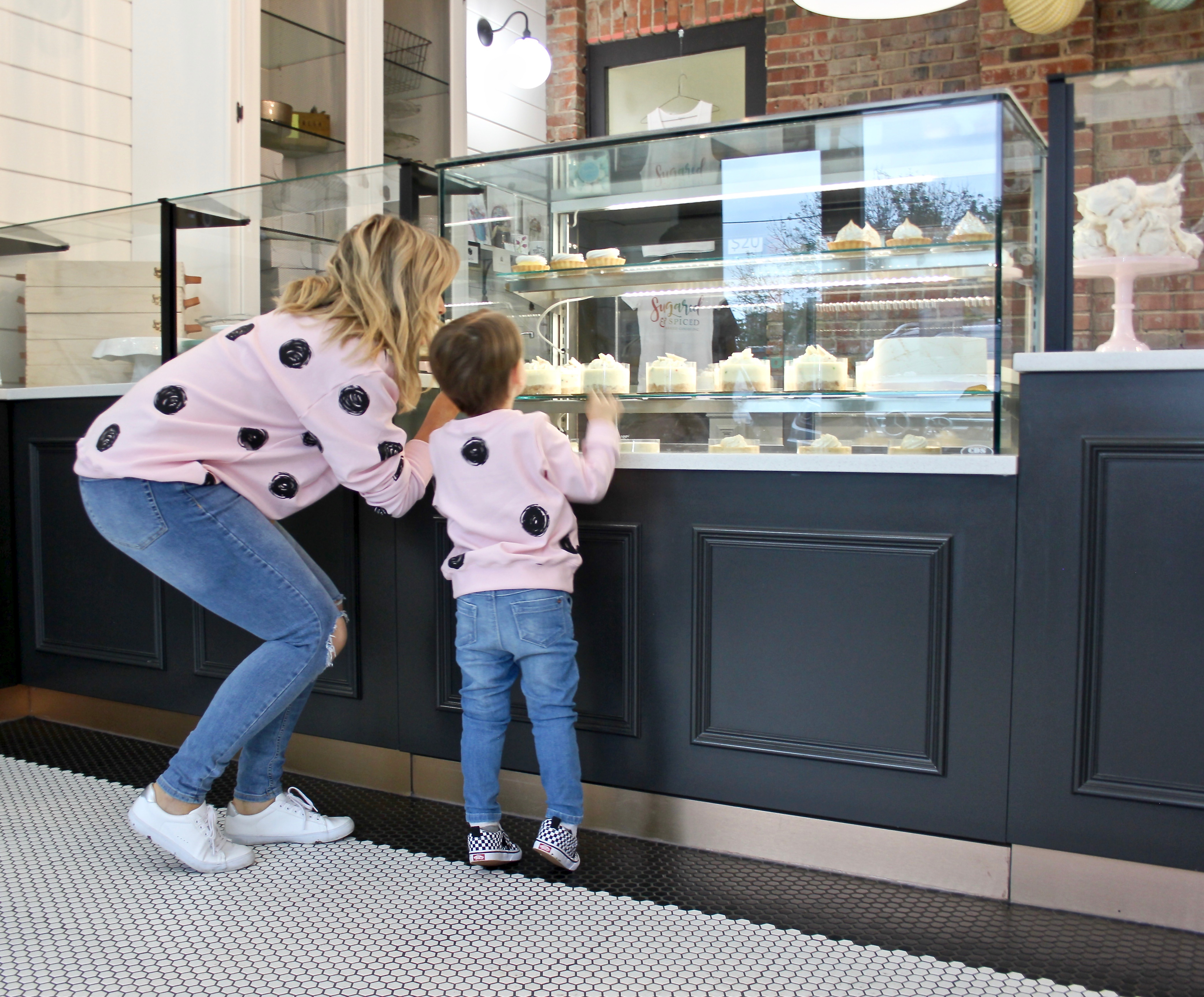 pink polka dot sweaters-2