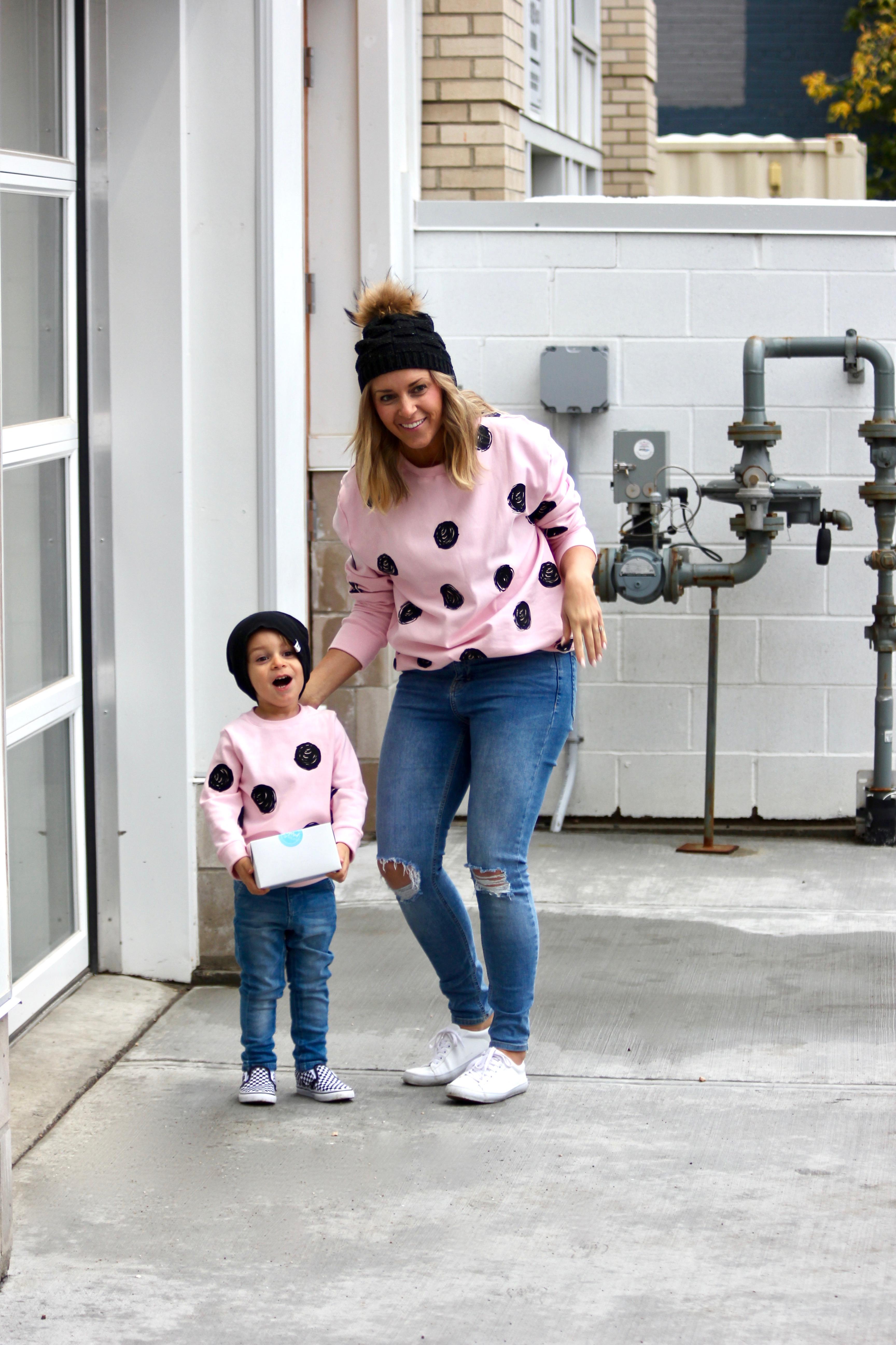 pink polka dot sweaters-12