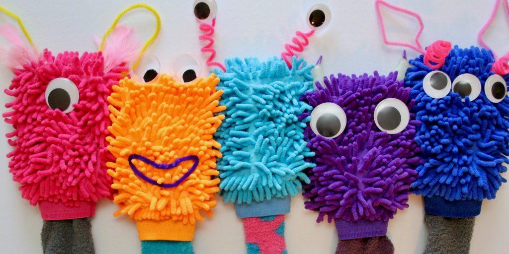 Car Wash Mitt Monster Puppets