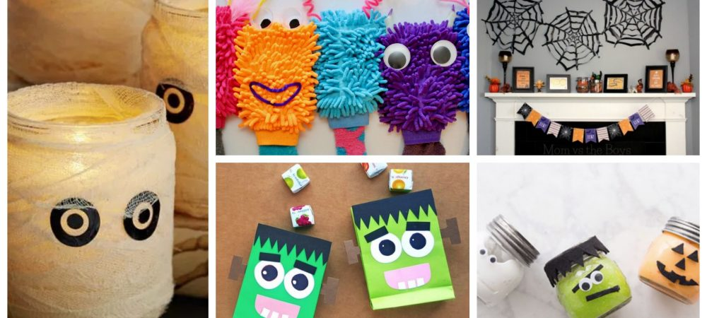 Five Simple Halloween Crafts For The Last-Minute Parent