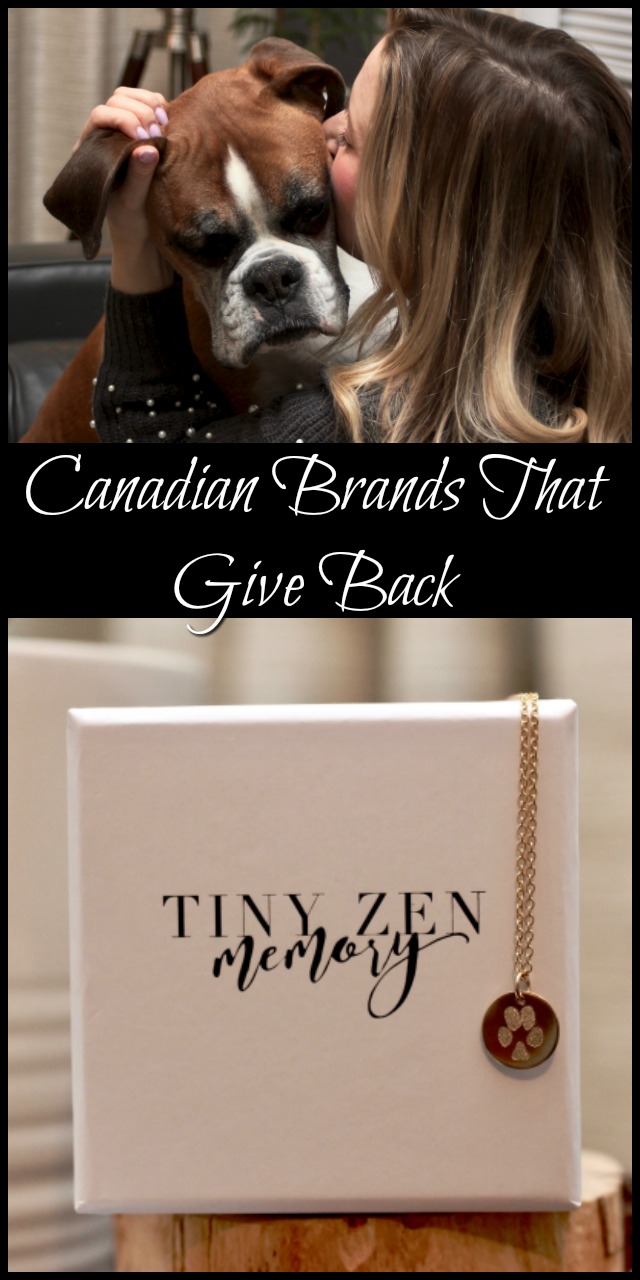 Canadian brands that give back-9