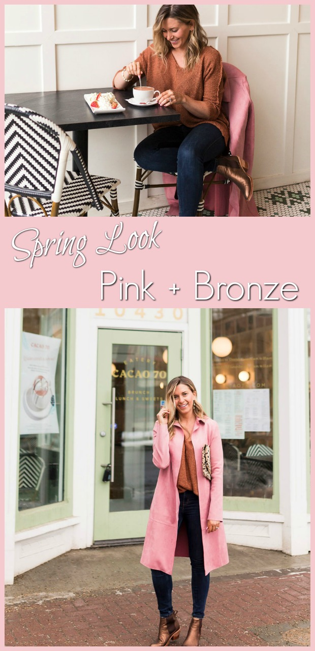 pink and bronze spring look-7