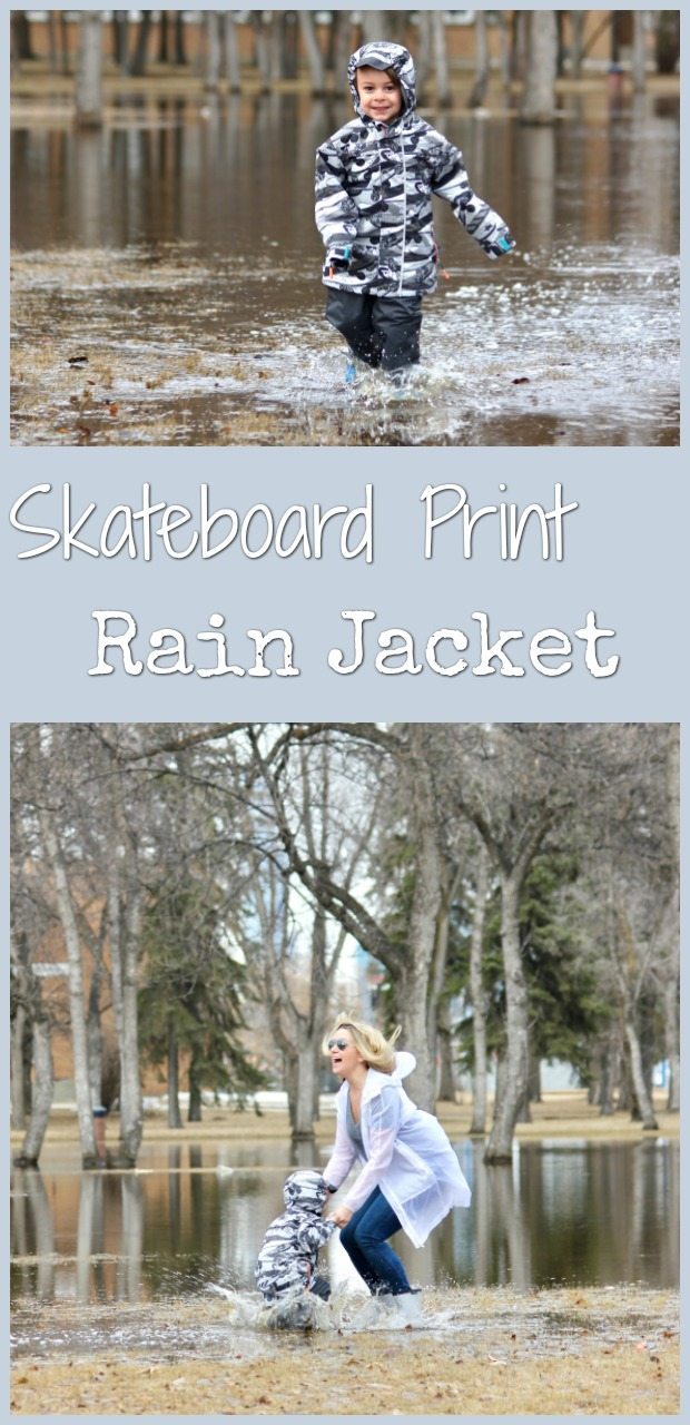 skateboard print rain jacket-8