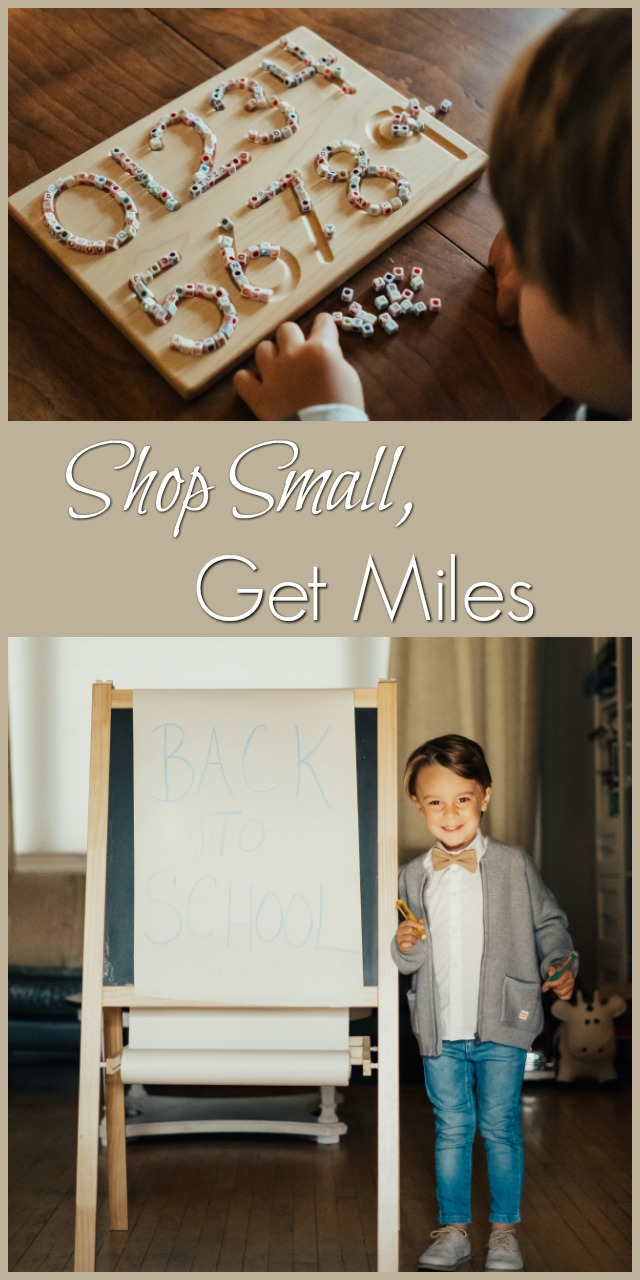 shop small get miles 11