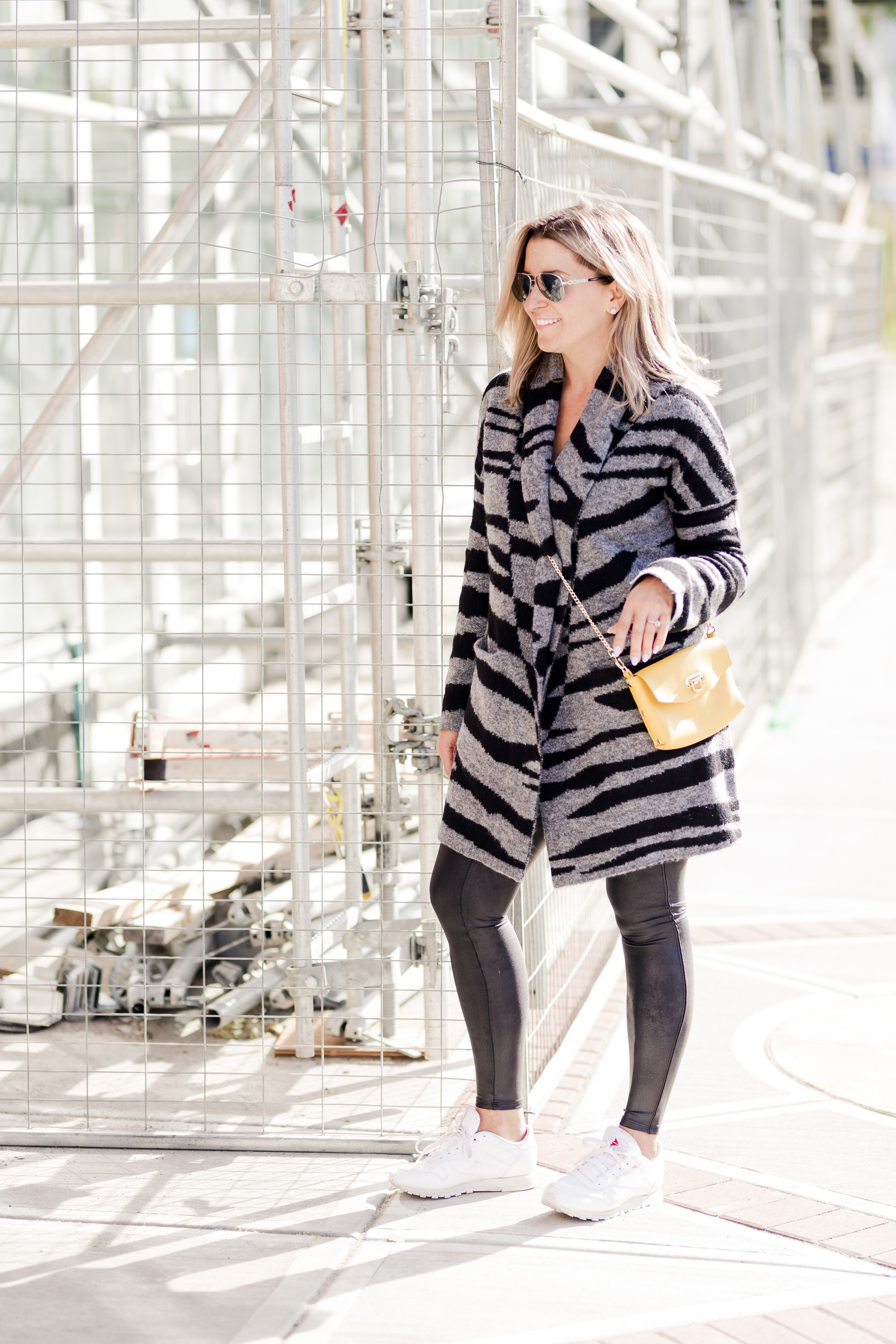 How To Style Spanx Faux Leather Leggings-1
