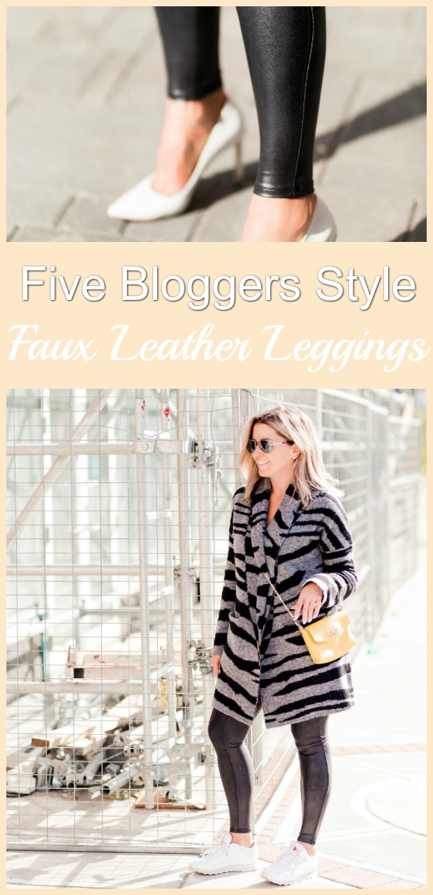 How To Style Spanx Faux Leather Leggings-10