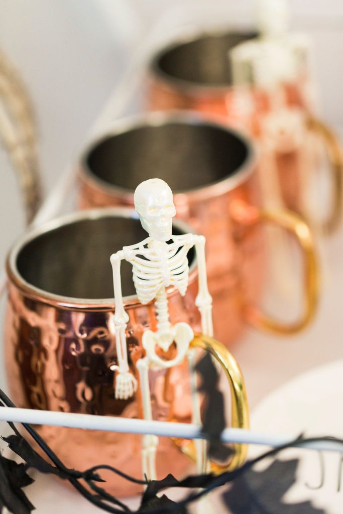 Spooky Chic Halloween Coffee Cart