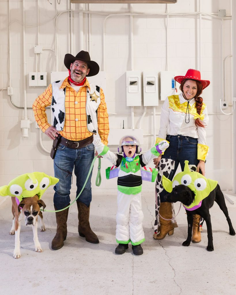 Our Toy Story Halloween Costumes