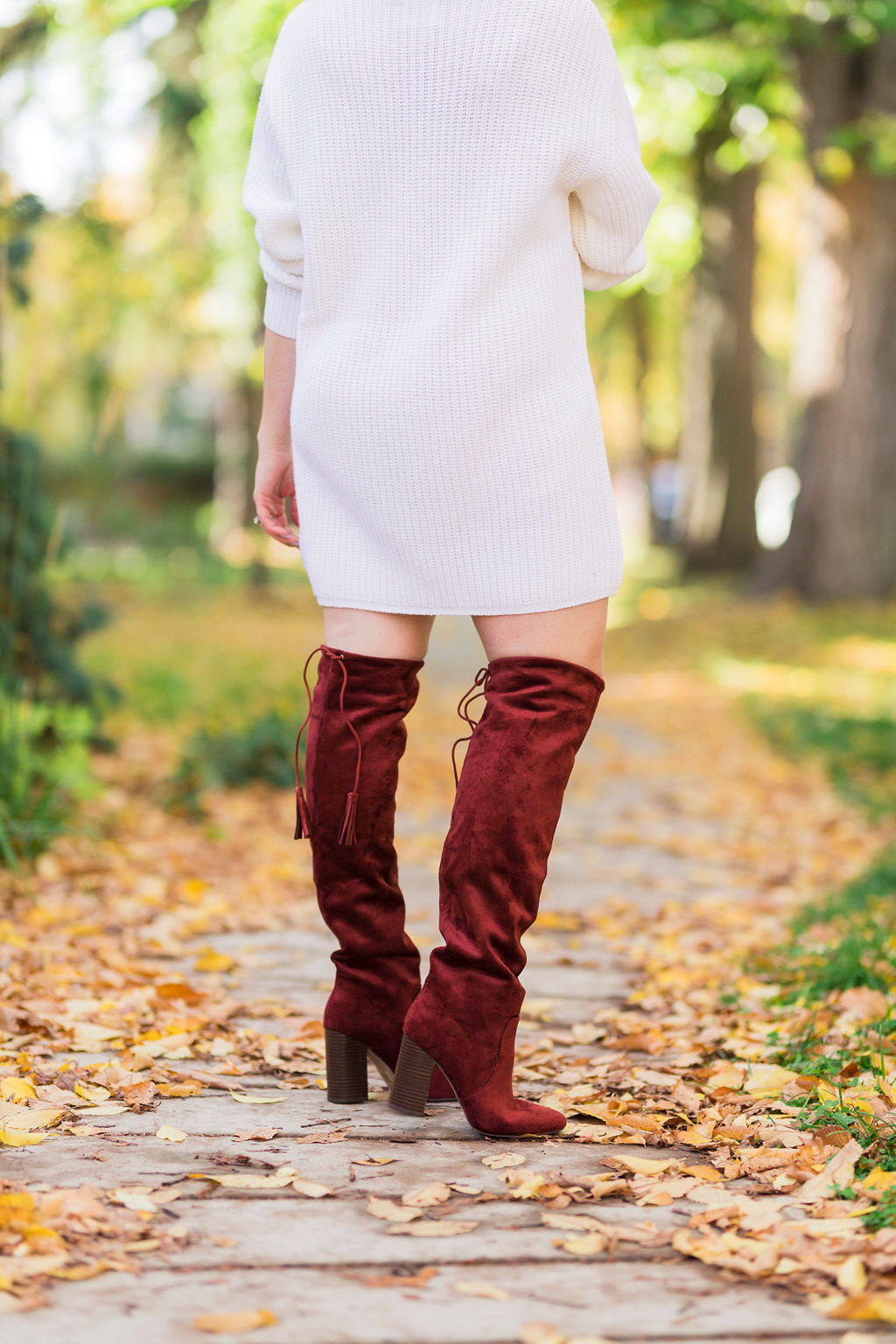 over-the-knee tassel boots-2