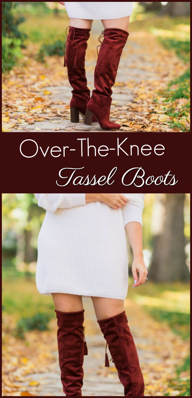 over-the-knee tassel boots-9