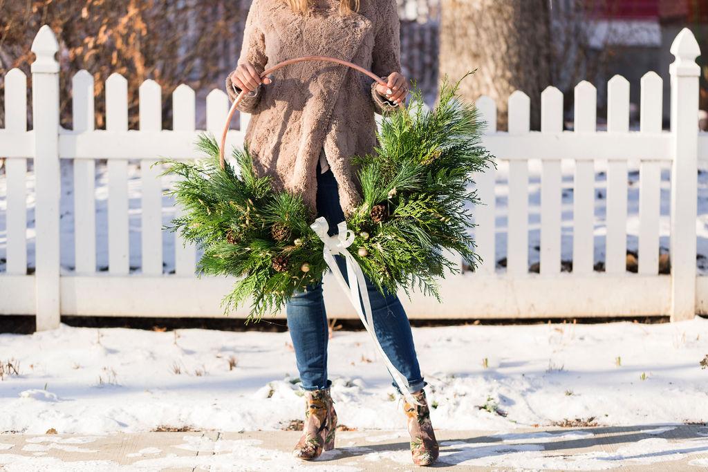 Copper Farmer's Wreath