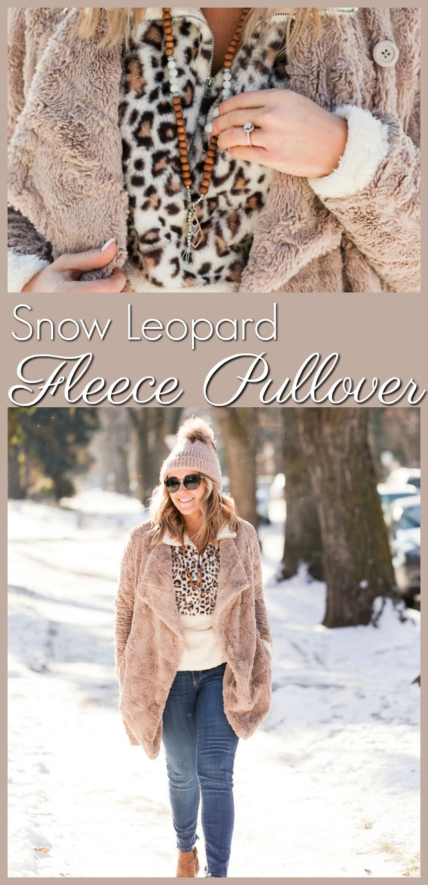 layering leopard fleece pullover-8