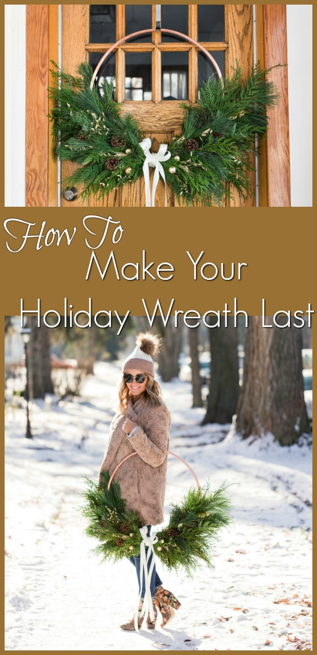 How To Keep Your Holiday Wreath Fresh-4