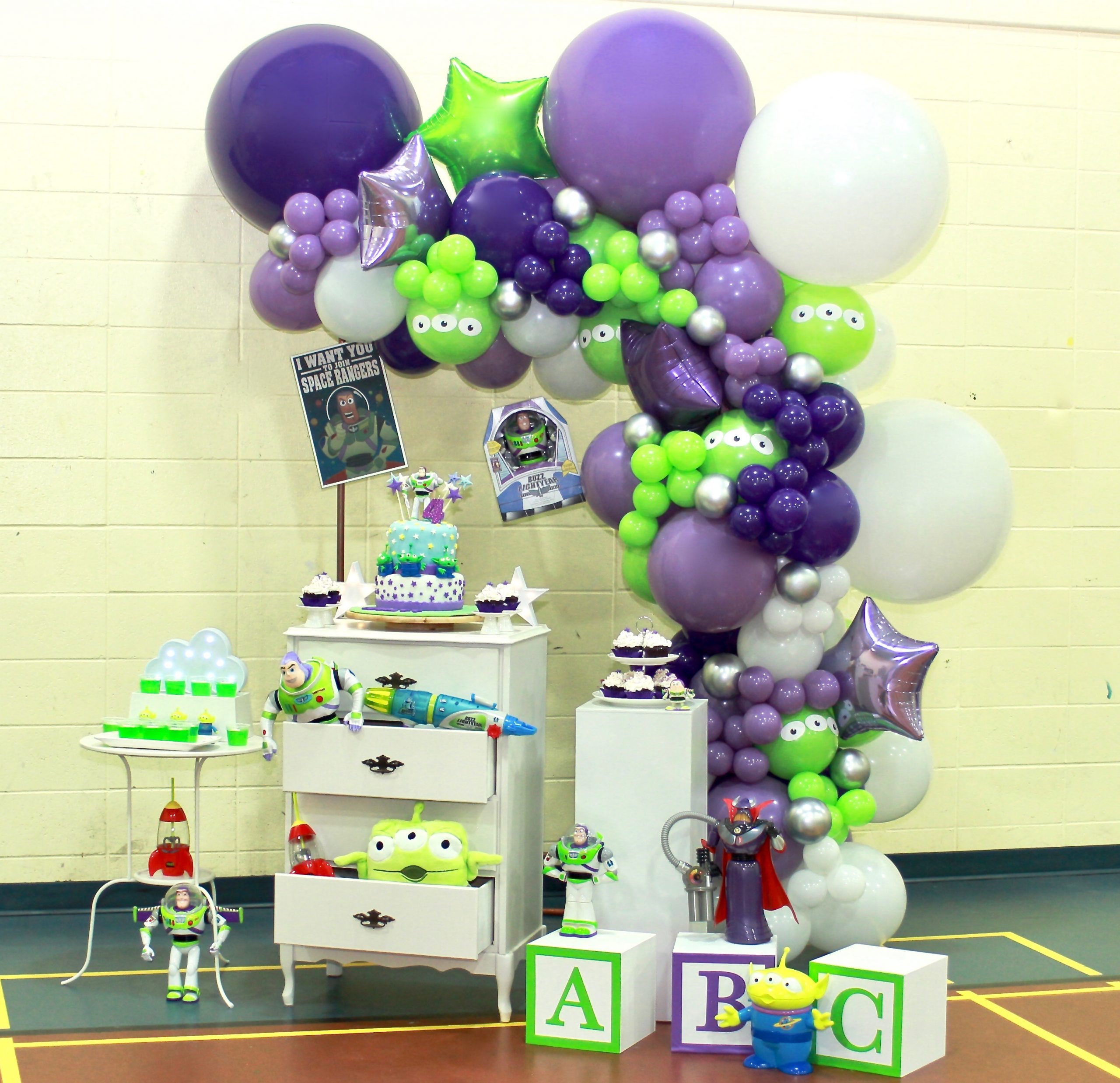 Buzz Lightyear Birthday Party-4