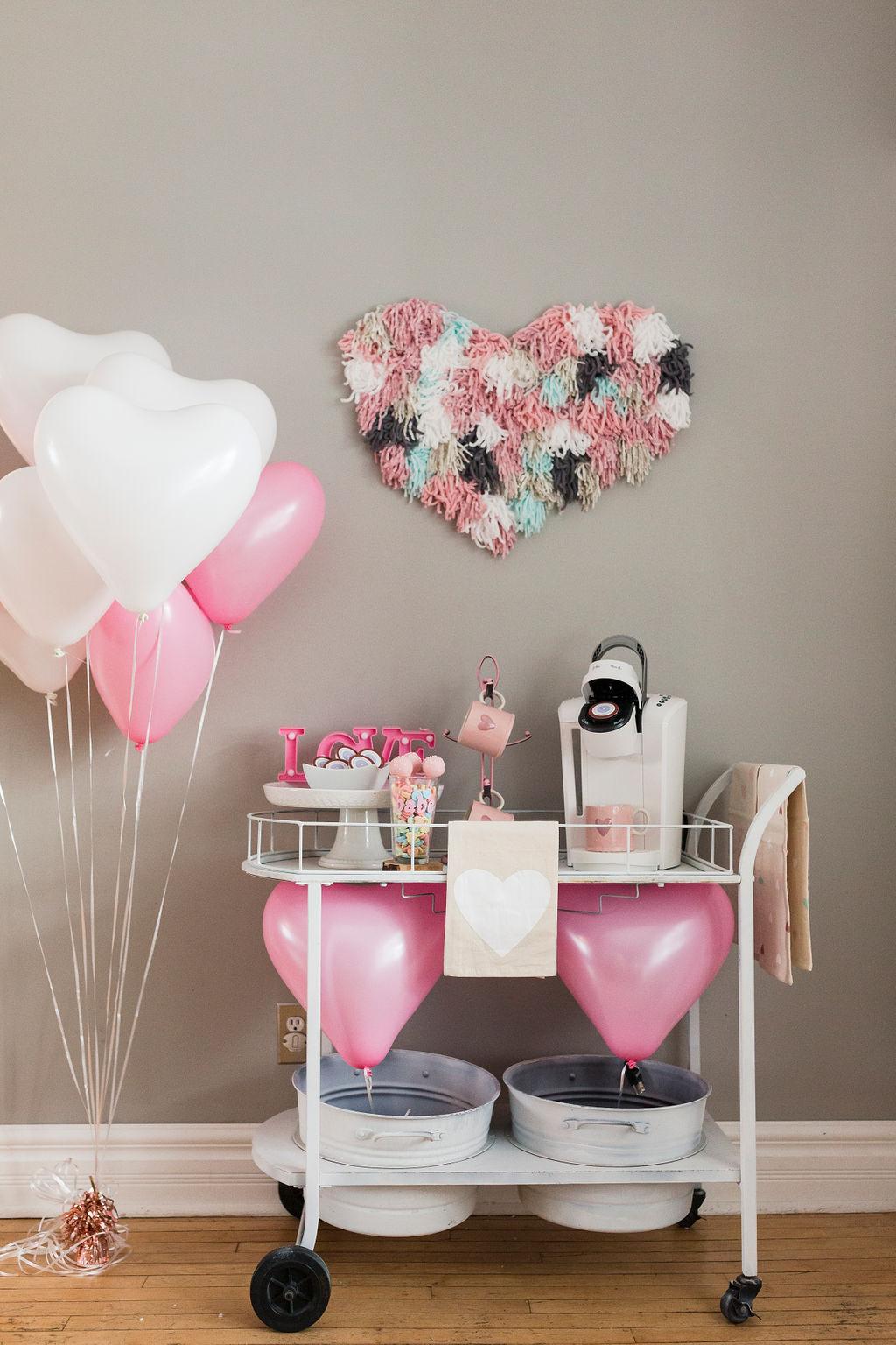 Valentine's Day Coffee Cart-2