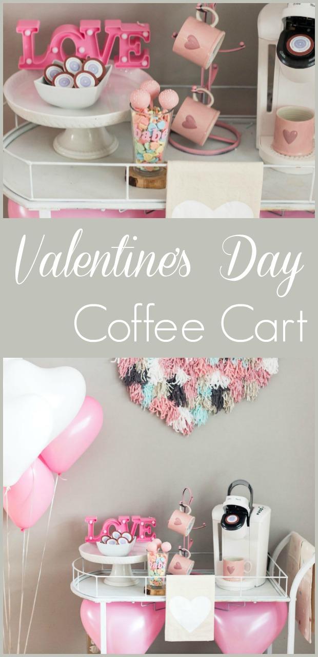 Valentine's Day Coffee Cart-4