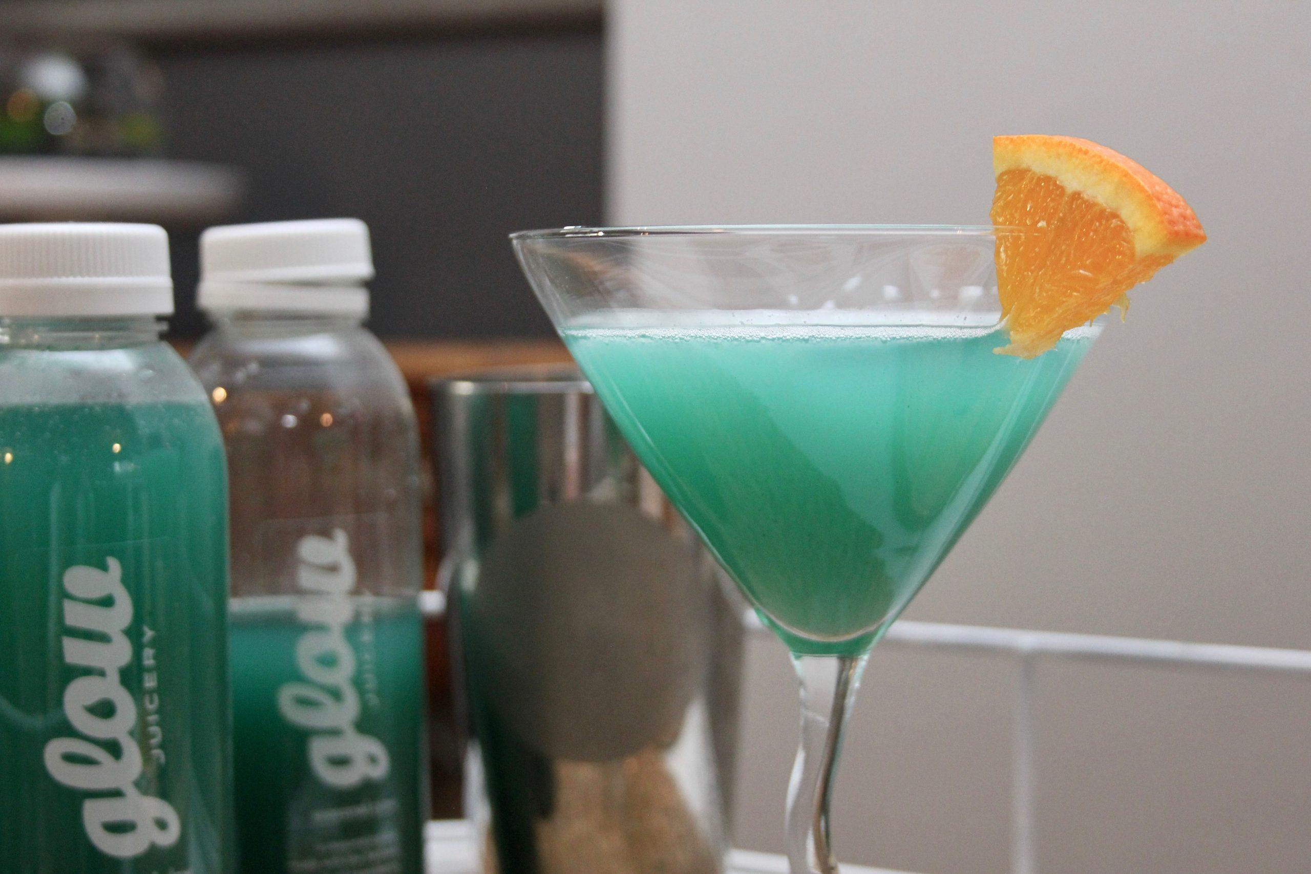 blue lemonade martini-1