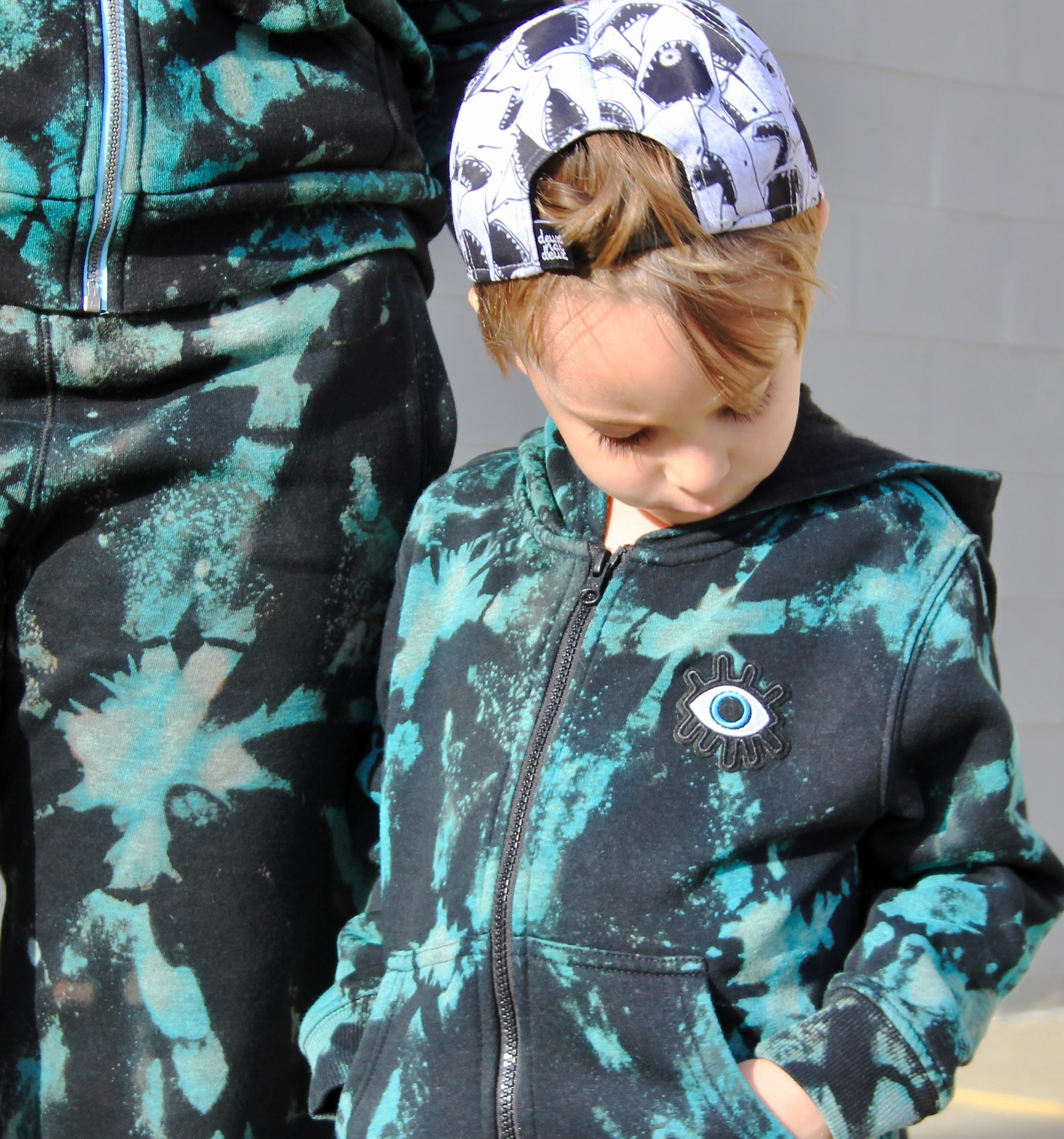 hand painted tie-dye sweatsuits-4