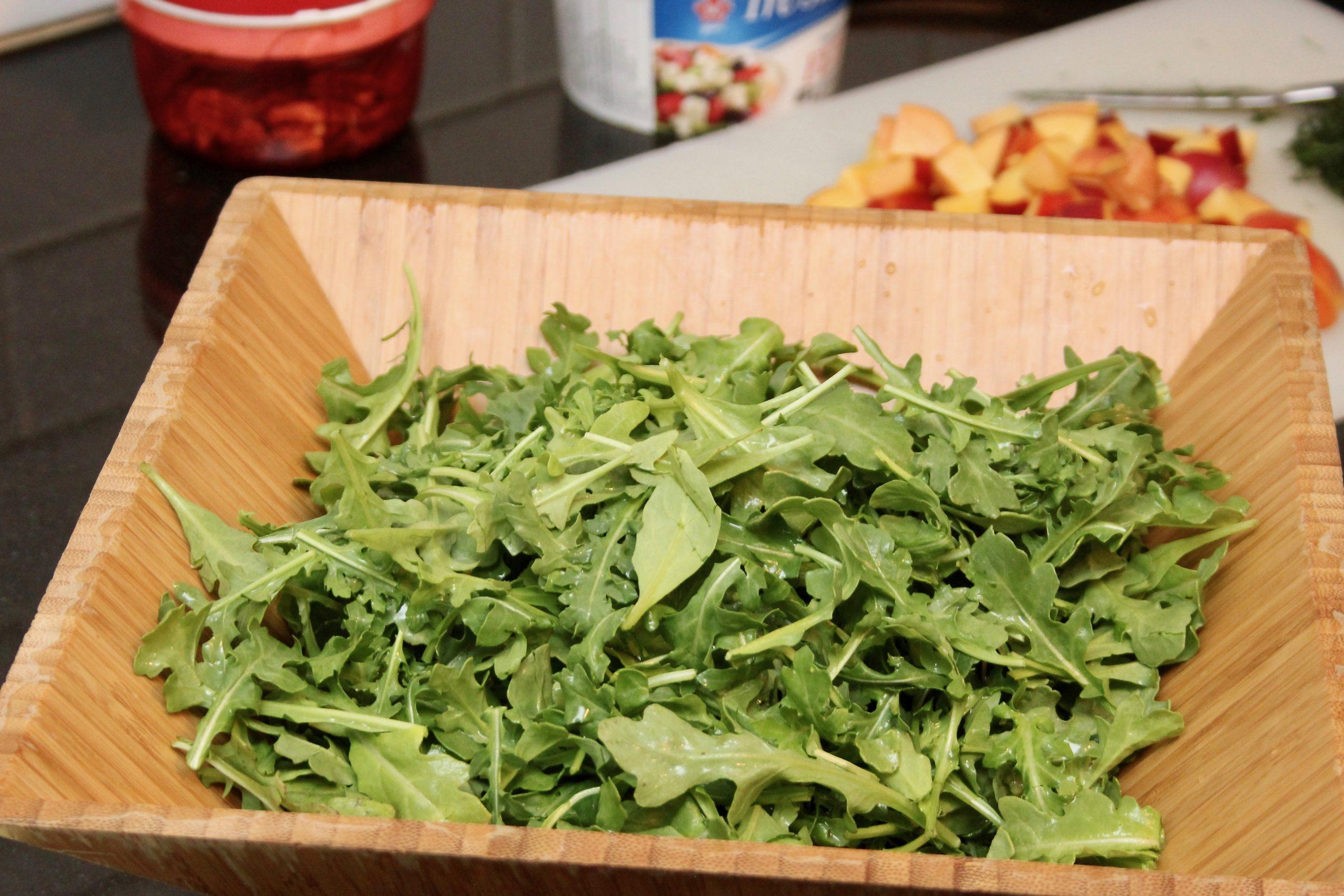 nectarine salad-3