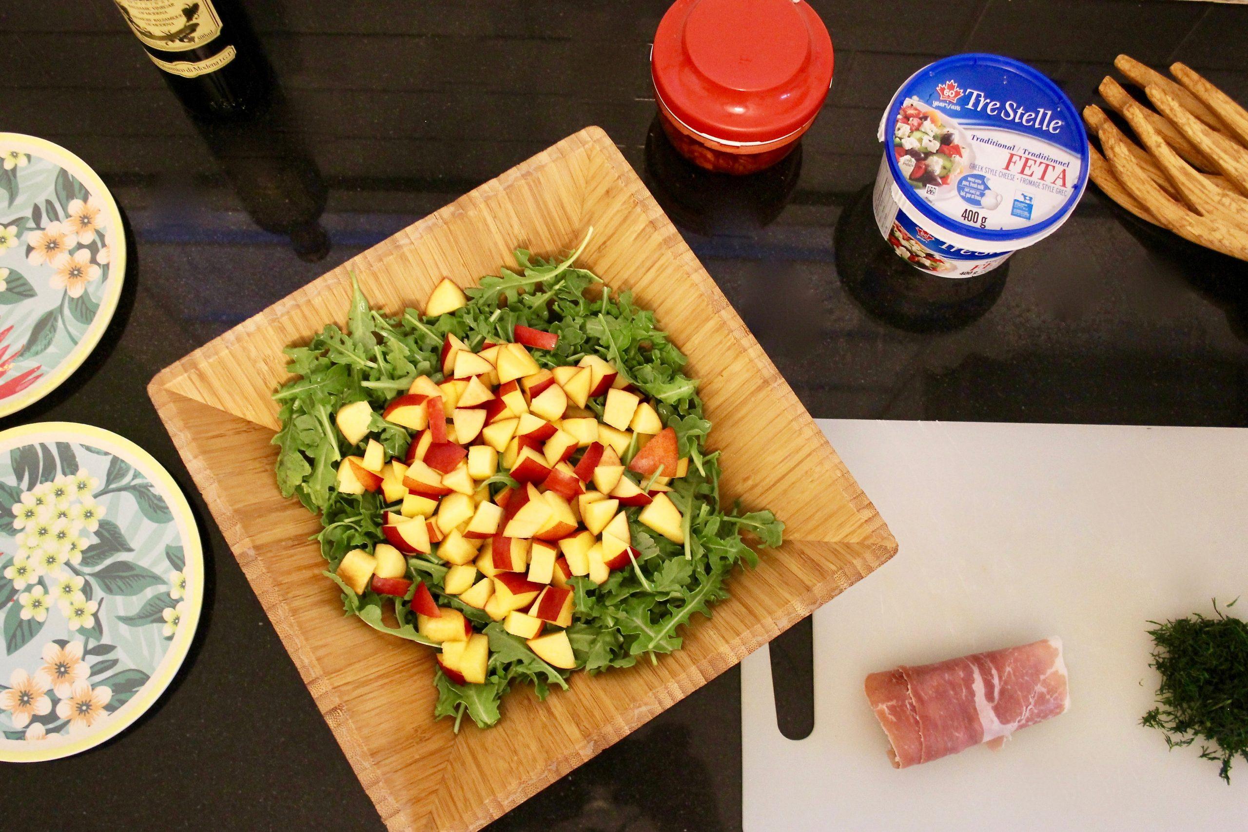 nectarine salad-4