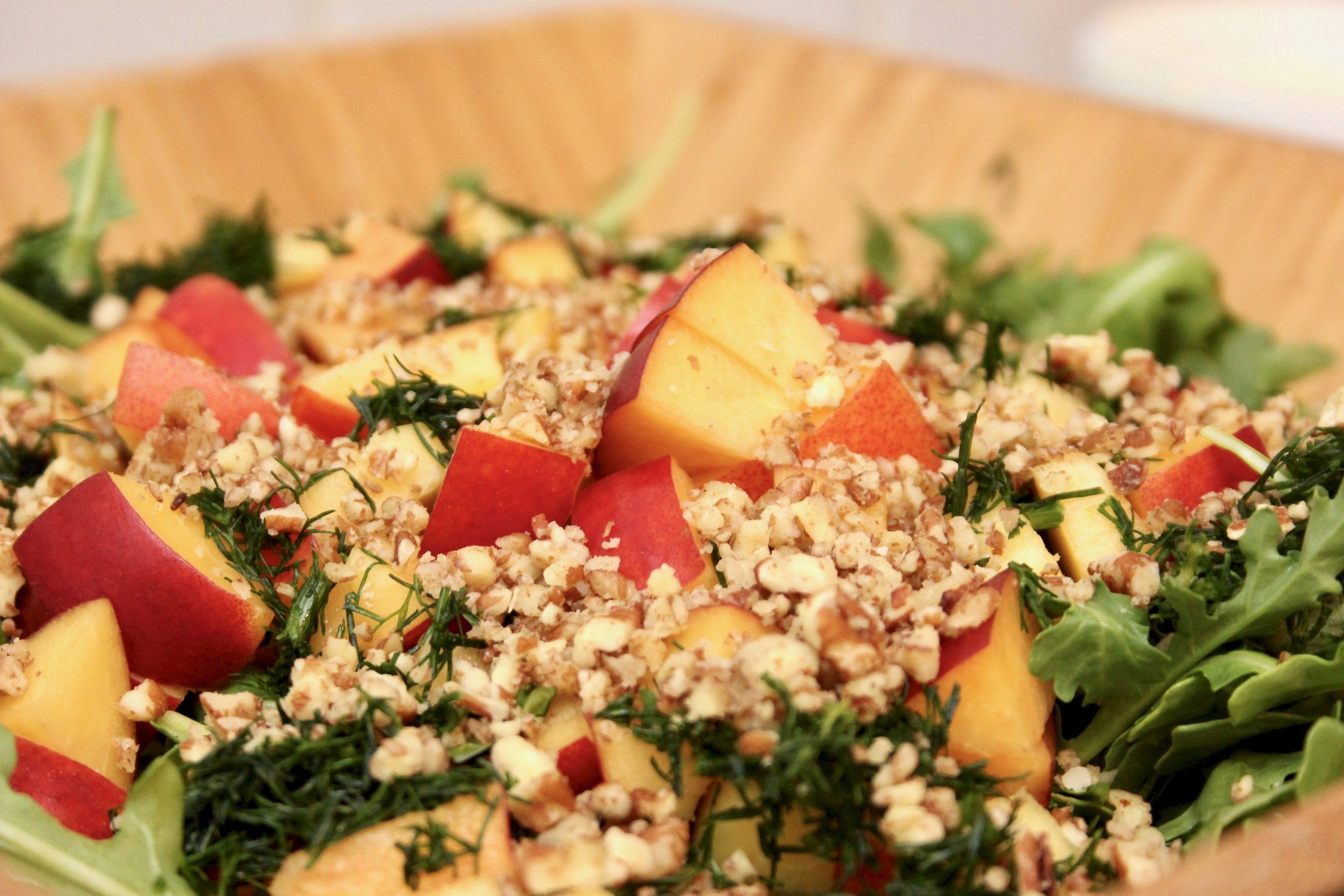 nectarine salad-5