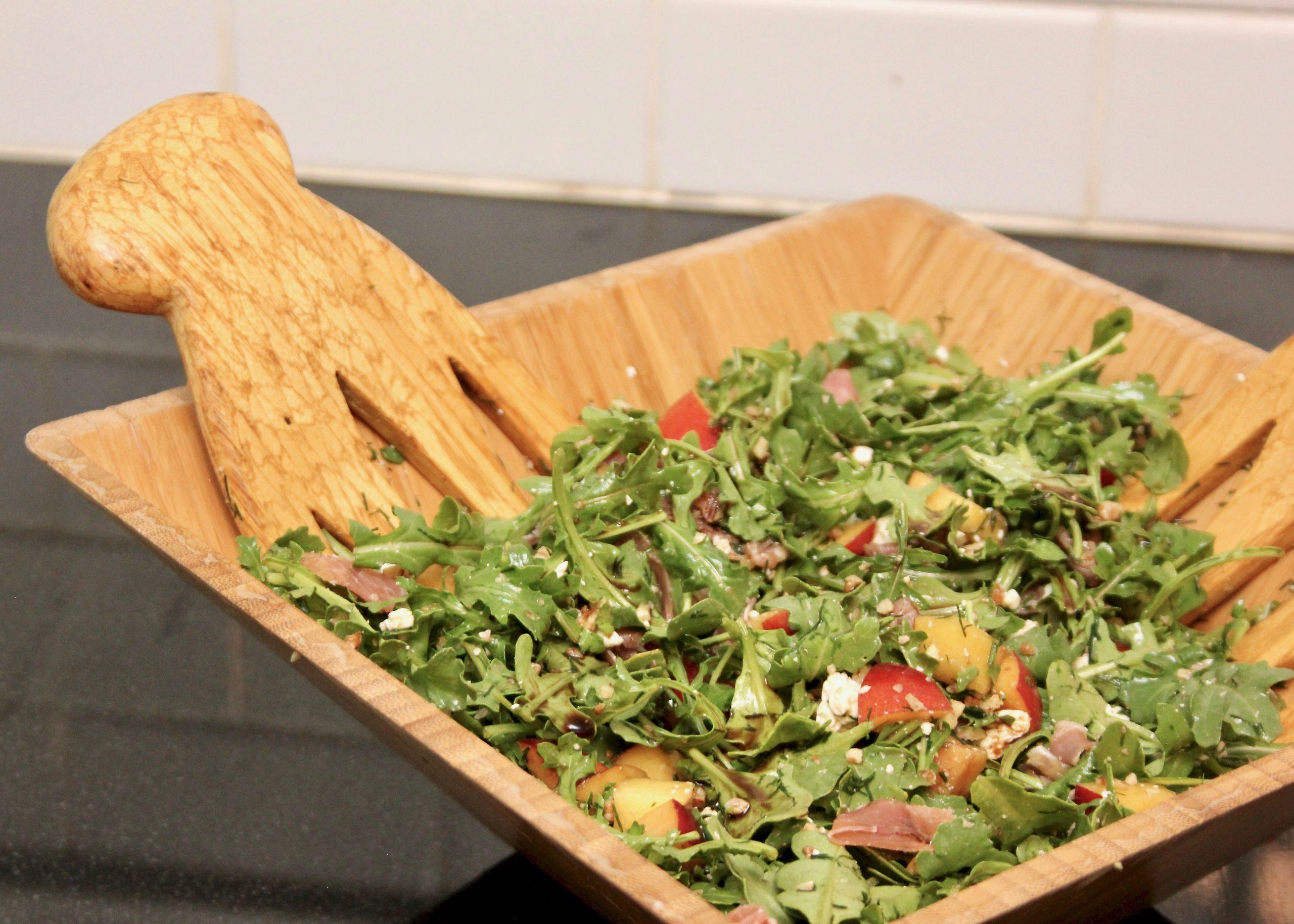 nectarine salad-1