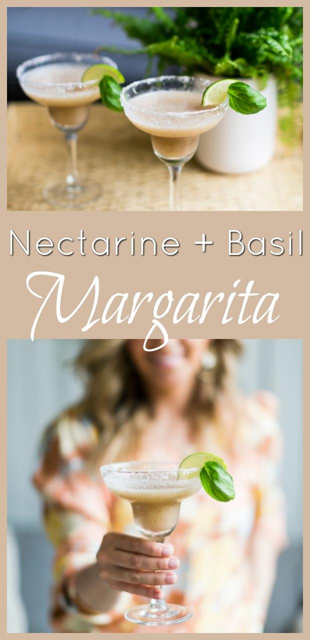 Nectarine Basil Margarita-7