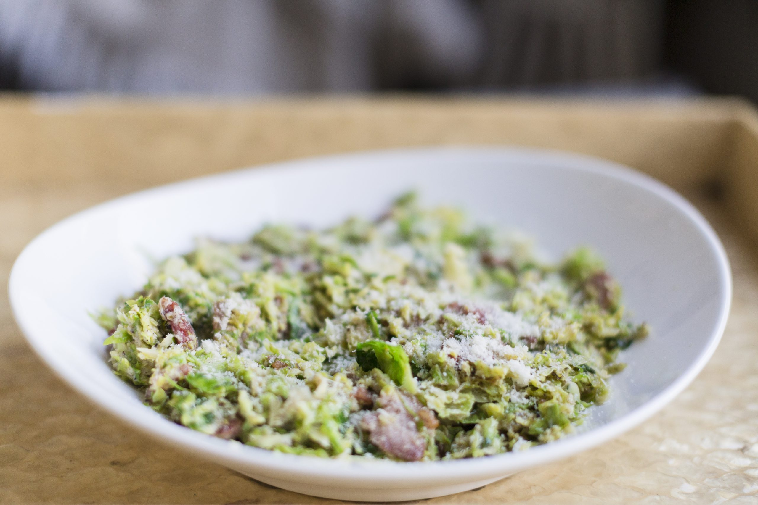 Caramelized Brussels Sprouts With Bacon-7