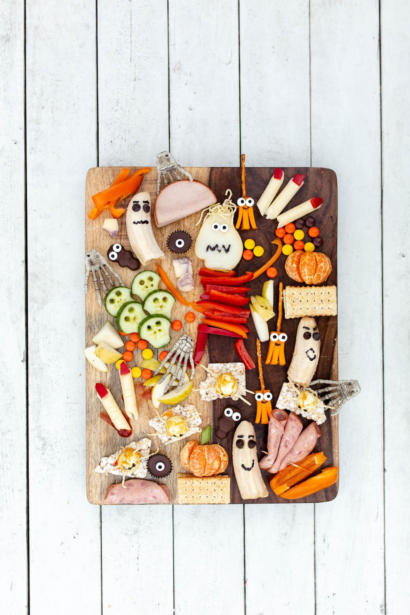 Halloween Charcuterie Board-8